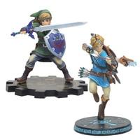 20cm/25cm Link Zelda Legend of Zelda Breath of the wild Sky Ward pvc action Figure toys