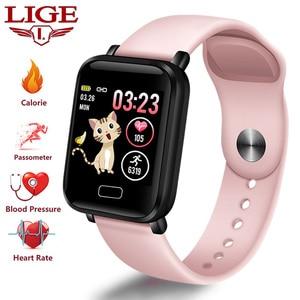 LIGE New Smart Watch Women Spo
