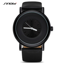 SINOBI 9372 Relogio Masculino Men's Dress Watch Geneva Quartz Watches Waterproof Male Casual Wristwatches 2016 Sport Gift Clocks