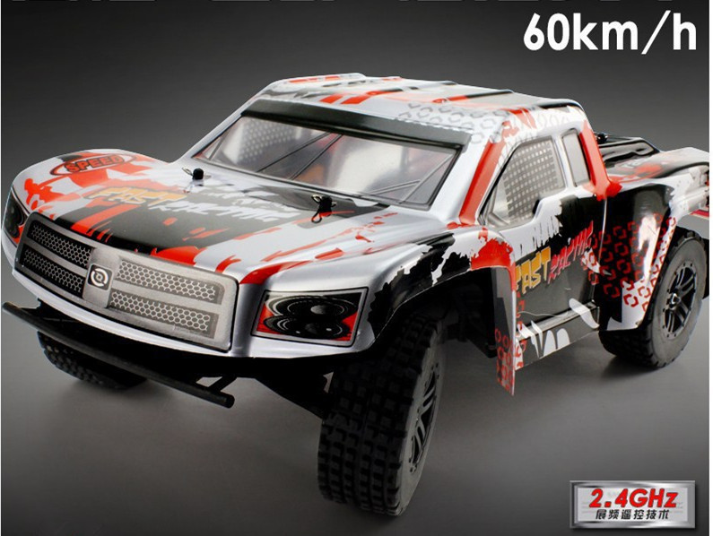 Express Delivery TEUMI T50 1:12 High Speed 60KM/H 2.4g 2WD OFF-ROAD Supper Toy RC Car