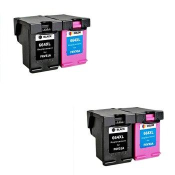 LuoCai compatible ink cartridges For HP664 For HP 644 XL DeskJet 1115 2135 3635 1118 2138 3636 3638 4536 4676 printers 644XL