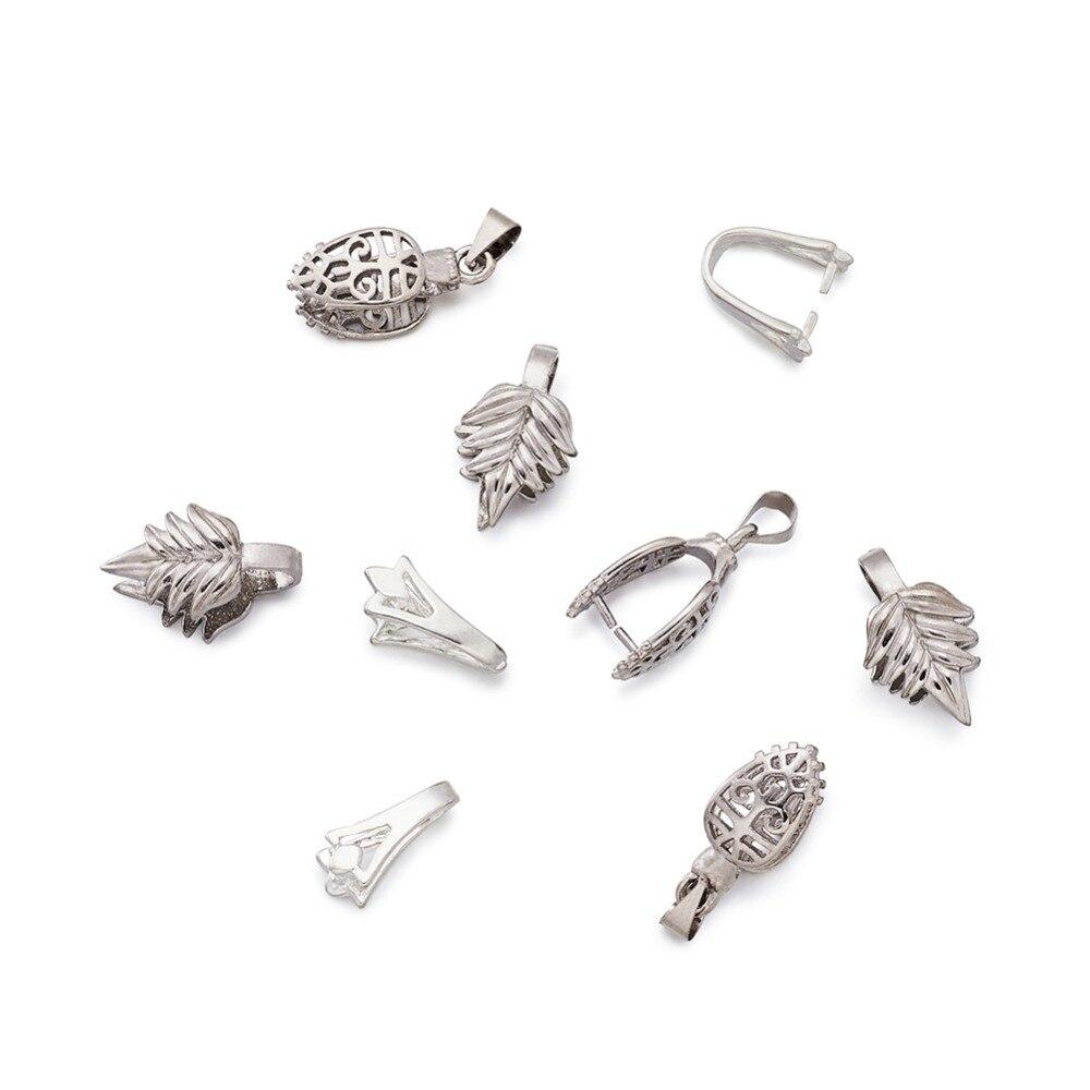 Ice Pick Necklace Jewellery Findings Clasp Bulk Buy DIY Pendant PINCH BAIL
