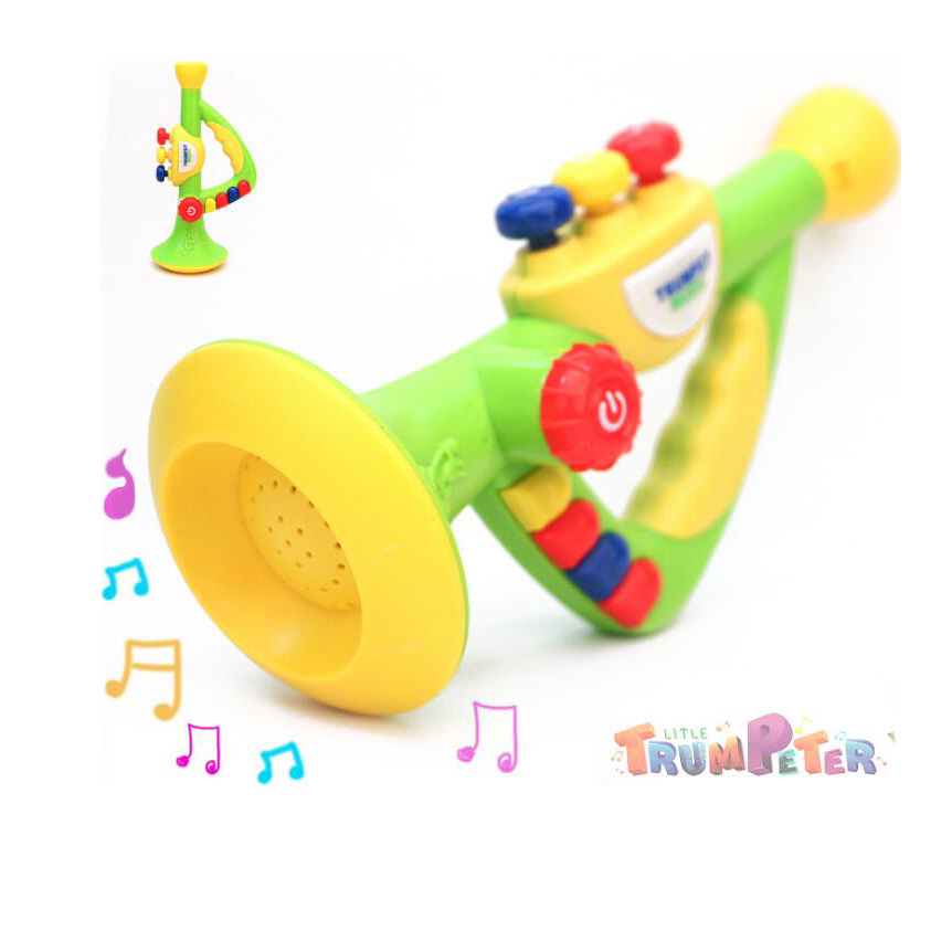 Onshine Новый стиль детские Трубы погремушки детские игрушки звучание Игрушечные лошадки колокольчик образовательных Игрушечные лошадки для ...