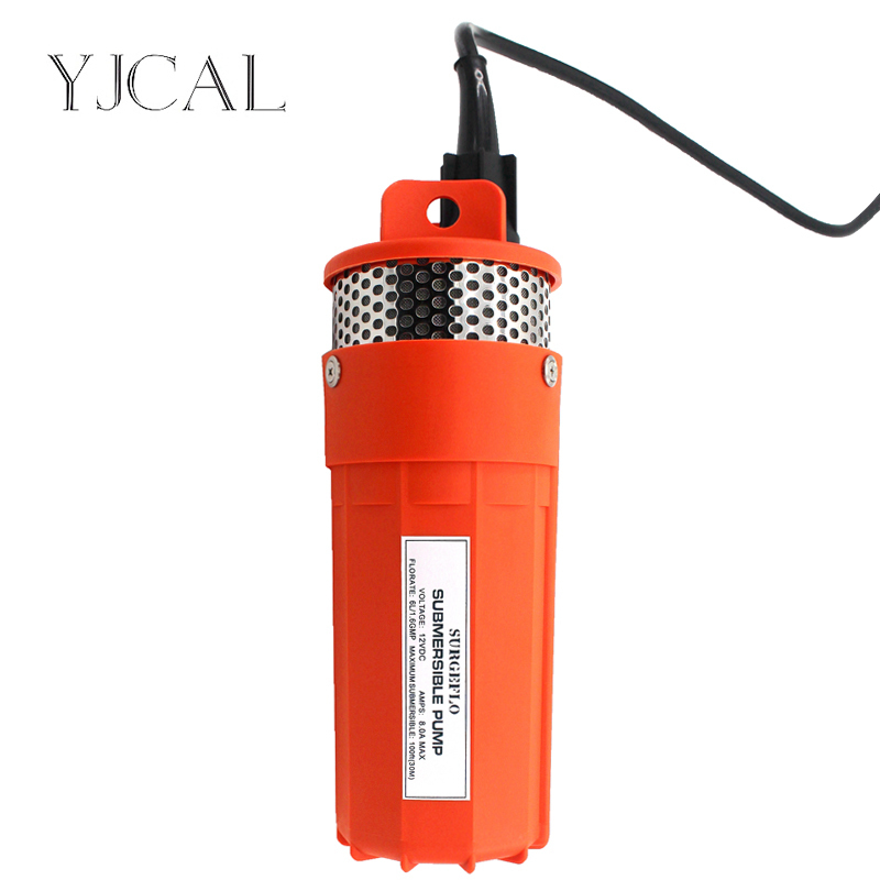 Submersible Solar Water Pump DC12/24V Large Flow Lift 70M Deep Well For Outdoor Garden Fountain Aquario Household 50mm 2 inch deep well submersible water pump deep well water pump 220v screw submersible water pump for home 2 inch well pump