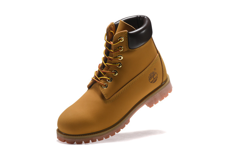 TIMBERLAND Men Classic 10061 Wheat Spring Yellow Ankle Boots,Man Male Leather Outdoor Casual Shoes Oversea Simple Version 40-45 5