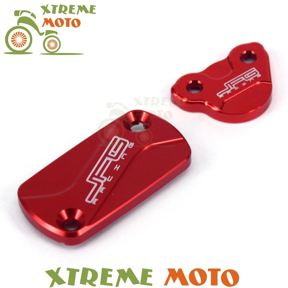Cnc front   rear brake tampa do reservatório de fluido para honda cr125 250  150r crf250r 250x 450r 450x motocross enduro supermoto d7341e3b60