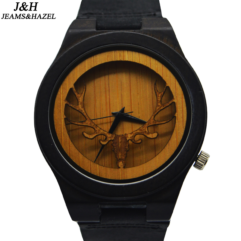 2017 Hot Selling Top Quality OEM Wooden Watch Back Case Wood Watch Display Gifts