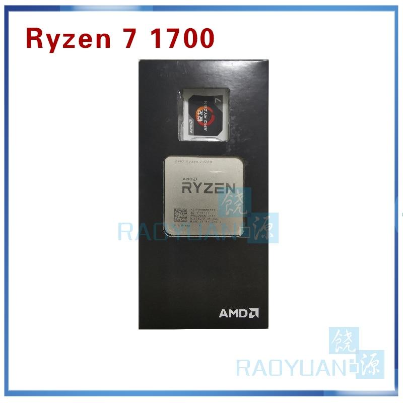 New AMD Ryzen 7 1700 R7 1700 3.0 GHz Eight-Core Sixteen-Thread C3=16M CPU Processor 65W YD1700BBM88AE Socket AM4