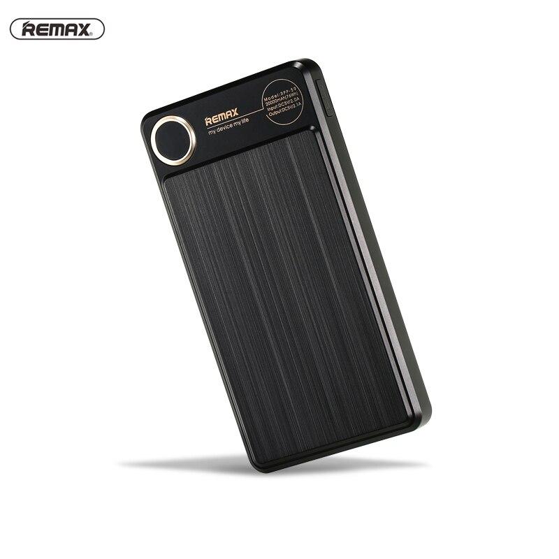 REMAX RPP-59 20000 mAh Powerbank Double USB Externe Portable Batterie Chargeur Pour iphone se 7 8 8 plus huawei p10 xiaomi puissance banque