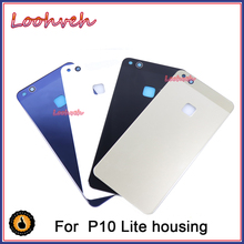 10Pcs/lot New Glass Rear Housing Cover For HUAWEI P10 Lite N