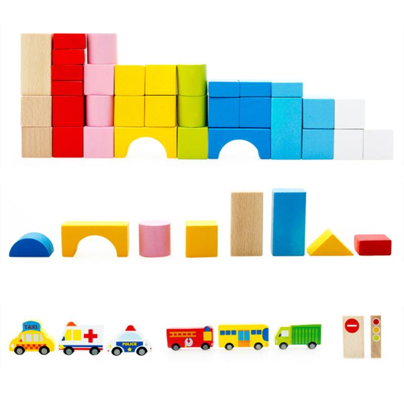 Unparalleled Baby Wooden Bricks Building Blocks Toys For Chrismas