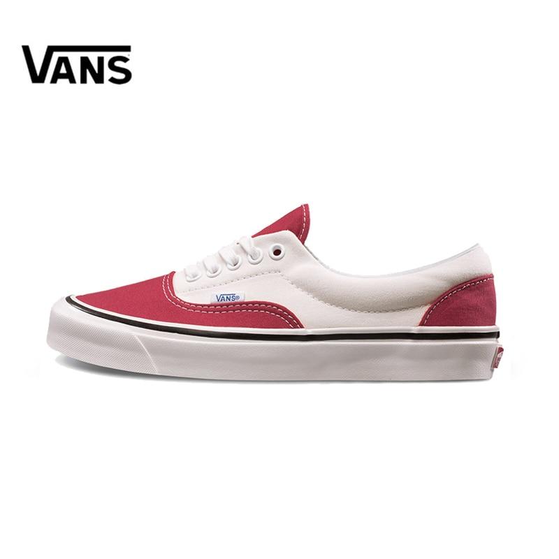 Original New Arrival Vans Men's & Women's Classic Era 95 Dx Low-top Skateboarding Shoes Sneakers Canvas Comfortable VN0A2RR1U8Q original vans low era classic lover s skateboarding shoes men s
