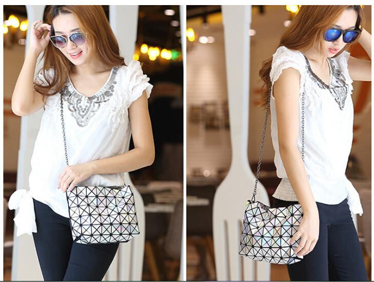 18 Famous Bao Bags Women Geometric Lingge Envelope Handbag Small Chain Clutch Ladies Shoulder Bags Messenger Bag Bao Bolsa 4