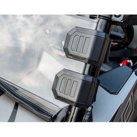 4 Pcs Universal Windshield Window HD Clamp For Polaris RZR XP For Honda Pioneer 500 700