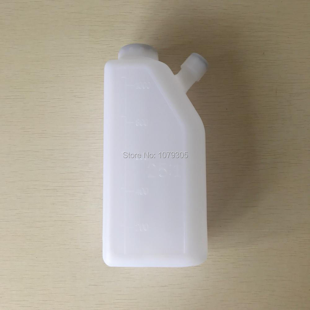 2-Stroke Fuel Petrol Oil Mixing Bottle 25:1 Chainsaw Trimmer 1.0L