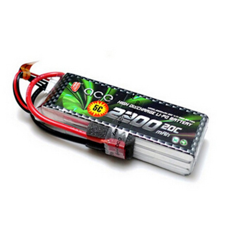 Lipo 3S Li-poly Lithium-Polymer ACE Power 11.1v 3S 2200mah 30C Battery 3S BatterieS RC DRONE Helicopter Boat Parts lp2200 3s 20 11 1v 2200mah lithium polymer battery for r c helicopter black