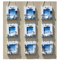 European Style Wood Photo Frame Three Boxes Combination Cadre Modern Picture Frames Photos Frame