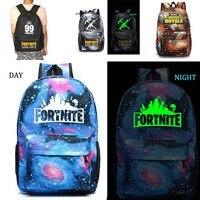 Fortnite Battle Royale School Bag Noctilucous Backpack Student School Bag Notebook Backpack Daily Backpack
