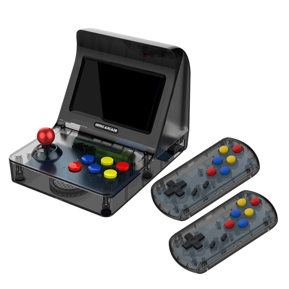 """A8 Retro Game Arcade Game Console 4.3""""Screen Gaming Consoles 3000 Games Supporting TF Card Expansion Gamepad Control AV Out"""