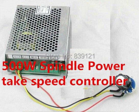500 W broche puissance entrée 220 v sortie 110 v 6A prise avec contrôleur de vitesse réglable en continu 50/60 HZ