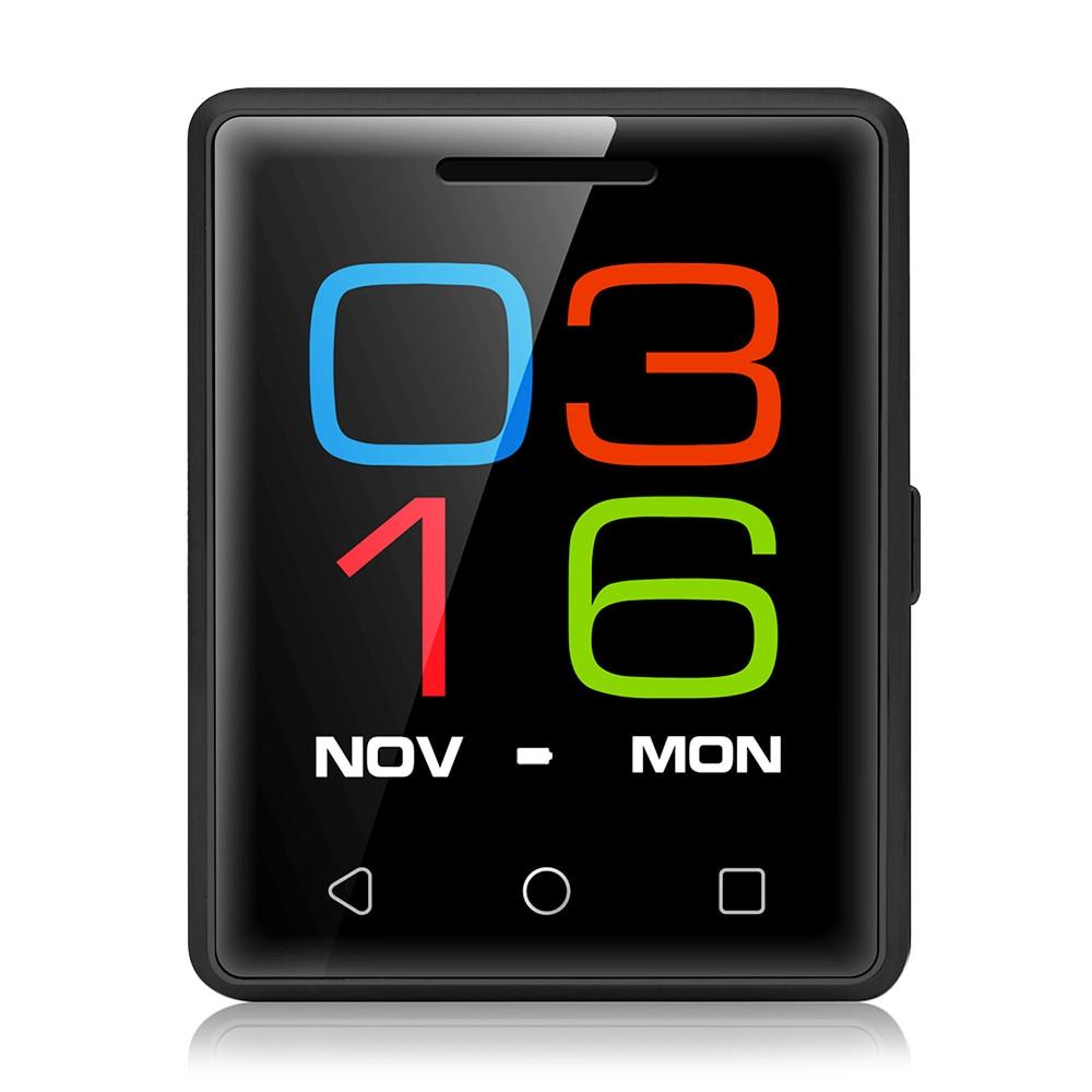 VPhone S8 smartphone original móvil del teléfono celular 1.54 pulgadas MTK6261D 32 MB RAM ROM Medición del ritmo cardíaco pedometer cámara remota