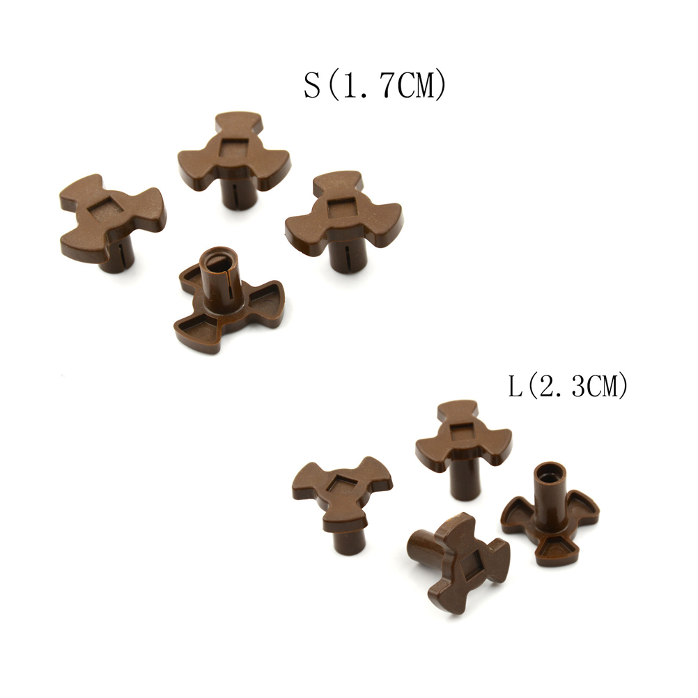 4Pcs NEW Universal Turntable Coupler Microwave Oven Turntable Roller Guide Support Coupler Tray Shaft 1.7CM/2.3CM Wholesale