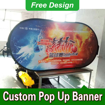 Free Design Free Shipping Vertical Top Banner Frame Pop Up A Frame Banner Pop Up A Frame