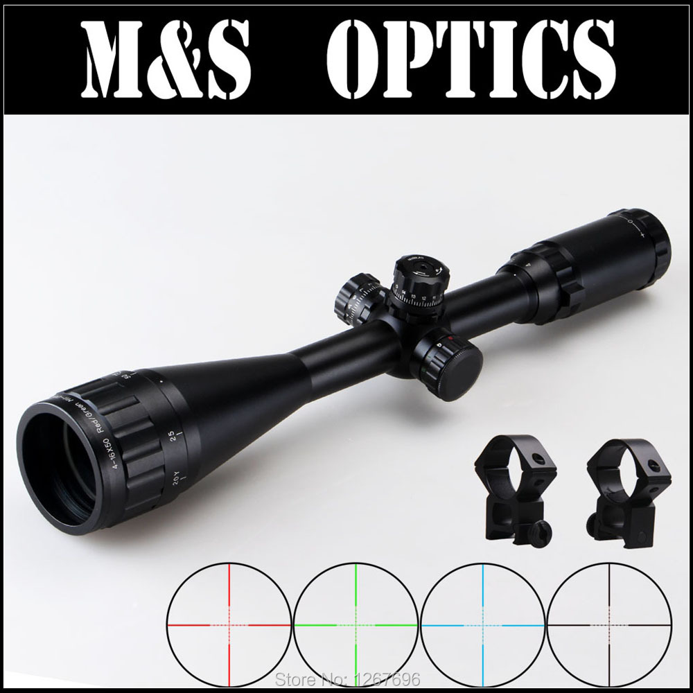 4-16X50 AOIRGBL Rifles scope Hunting Airgun Air Guns Optical Sight Rifle Riflescope With 11mm / 20mm For Hunter Made In China t eagle 6 24x50 sffle riflescope side foucs rifle scope with spirit level tactical long range rifles airsoft air gun