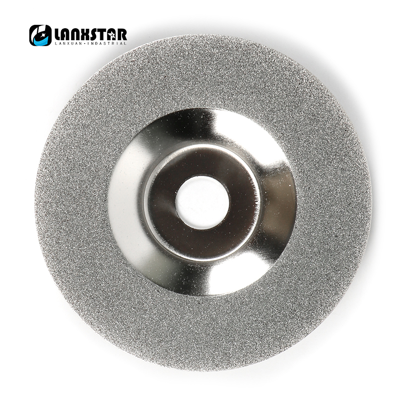 все цены на Grind Reduced Sparking Wheel Glass Diamond Grinding Disc 4