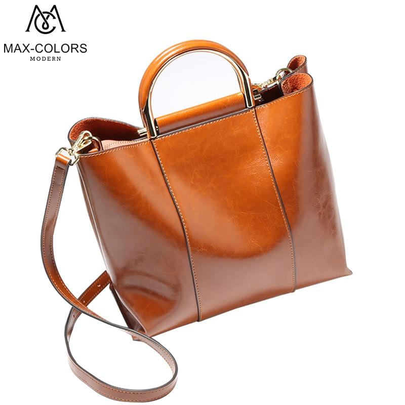 Vintage Large Bag Split Leather Crossbody Bag For Women Shoulder Bags Luxury Handbags Women Bags Designer 2017 New Arrivel