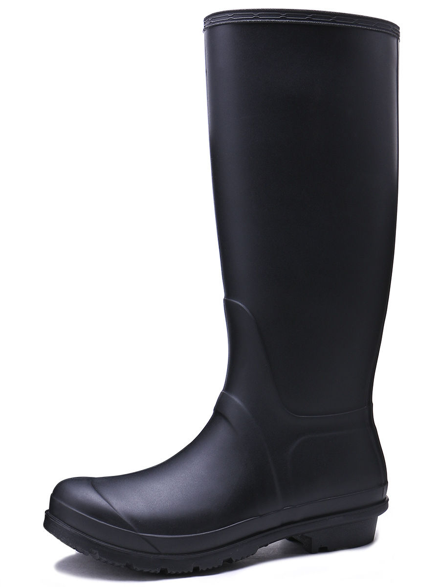 Excargo Rubber High Rainboots Woman Comfortable 2019