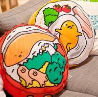 Cute Japan KIRIMI Cushions Pillow Stuffed Plush Toy Doll Christmas Present Throw emoji Pillows Car Home Decor cojines emoticonos