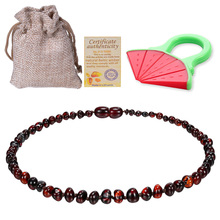Baltic Ambers ожерелье-прорезыватель/браслет для малышей/взрослых противовоспалительный, Drooling высокое качество Сертифицированный сырье Ambers ювелирные изделия