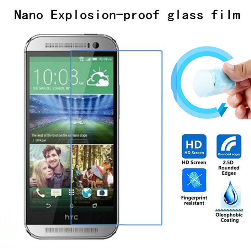 Soft Explosion-proof Nano Protection Film Foil for HTC <font><b>M8</b></font> MINI one mini 2 one mini2 Screen Protector Not Tempered Glass