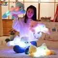 Triver Juguete Caliente que brilla luminoso led light up juguetes oso de peluche regalo de cumpleaños almohada muñeca de la felpa Niños de la niña de Regalo deco casero