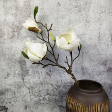 2 шт./лот, новинка, искусственный цветок магнолии, цветок для свадьбы, рождественской вечеринки, искусственные цветы, домашний декор, шелковые гортензии, дешевые цветы