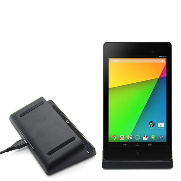 Sync Dock Charger Stand Holder Charging Cradle Station + Micro USB cable For Google Nexus 7 II Tablet