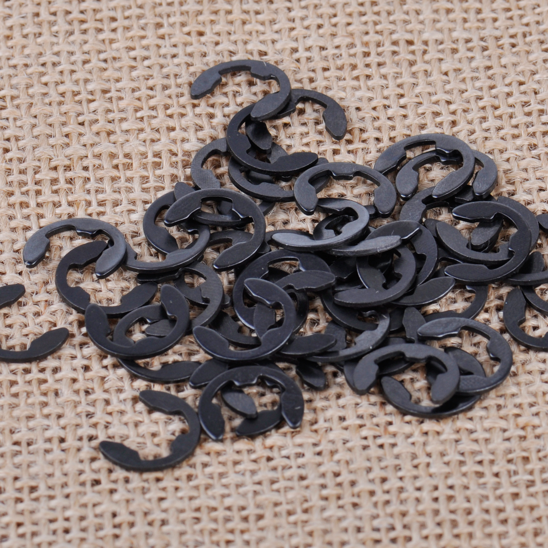 LETAOSK 50Pcs Sprocket Washer E Clip Fit For Stihl MS170 MS180 021 025 Chainsaw 9460 624 0801