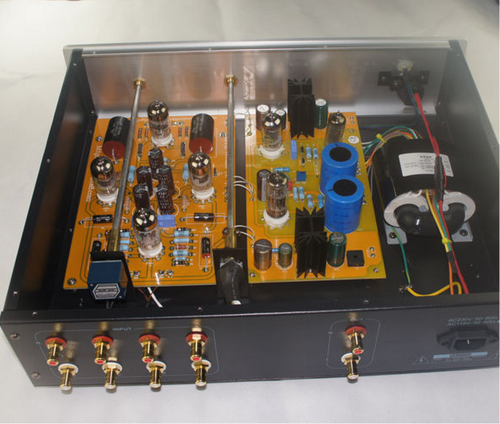6dj8 Pre Amp Circuits Ampcircuits Lite Au Ax Hifi Tube Preamplifier Base On Cat Signature Preamp In Amplifier From Consumer Electronics