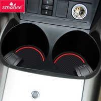 Smabee Gate slot mat For Toyota RAV4 2006 ~ 2012 XA30 RAV 4 2007 2008 2009 2010 2011 Cup Holders Non-slip mats accessories