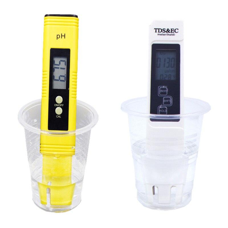 Alta precisión PH Digital portátil TDS EC PPM medidor de Calidad de Agua probador de pluma uso para acuario piscina 20%