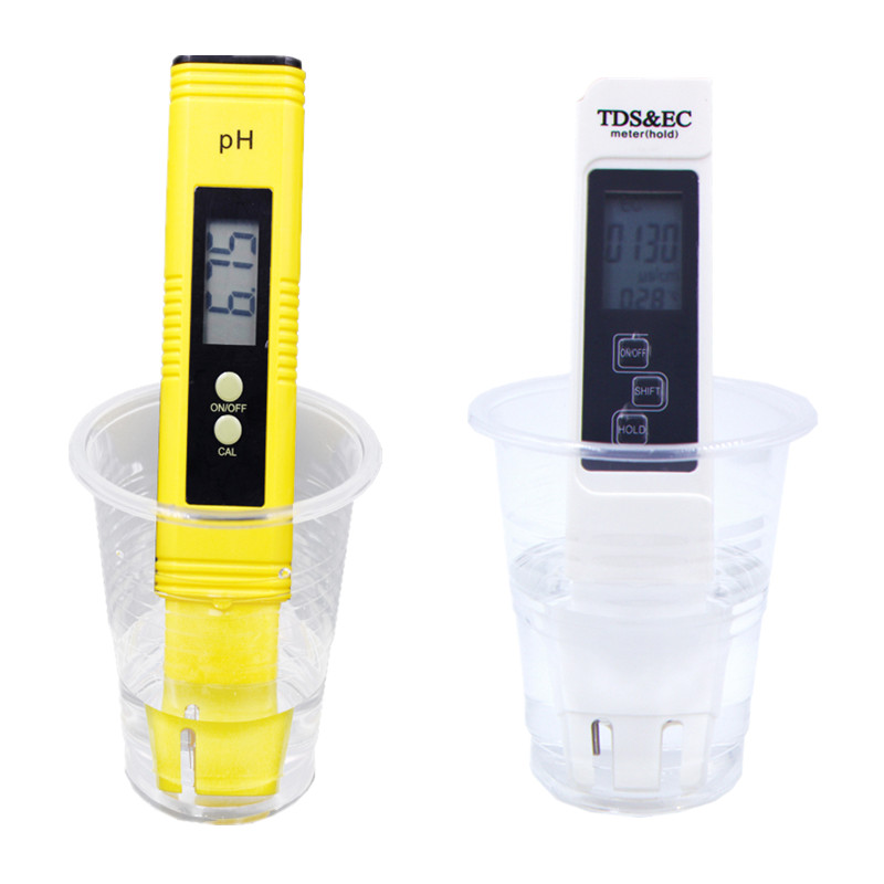 Highly Accurate Portable Digital PH Meter TDS EC PPM Water Quality Meter Tester Pen Use for Aquarium Pool 20%off 0 9999ppm pen type digital tds meter handheld lcd auto calibration tds tester aquarium pool water quality ppm atc temp meter