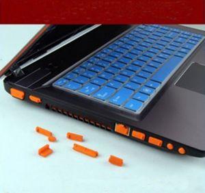 13Pcs/set For Macbook Silicone Anti Dust Plug Cover Stopper Laptop dust plug laptop dustproof usb dust plug Computer Accessories