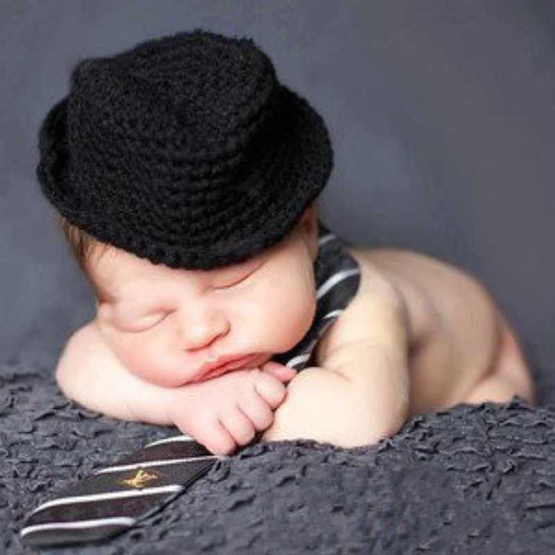 9cde69a58 Baby & Toddler Clothing Cute Baby Infant Newborn Hat Handmade Crochet  Cowboy Cap Photography Props Clothing, ...