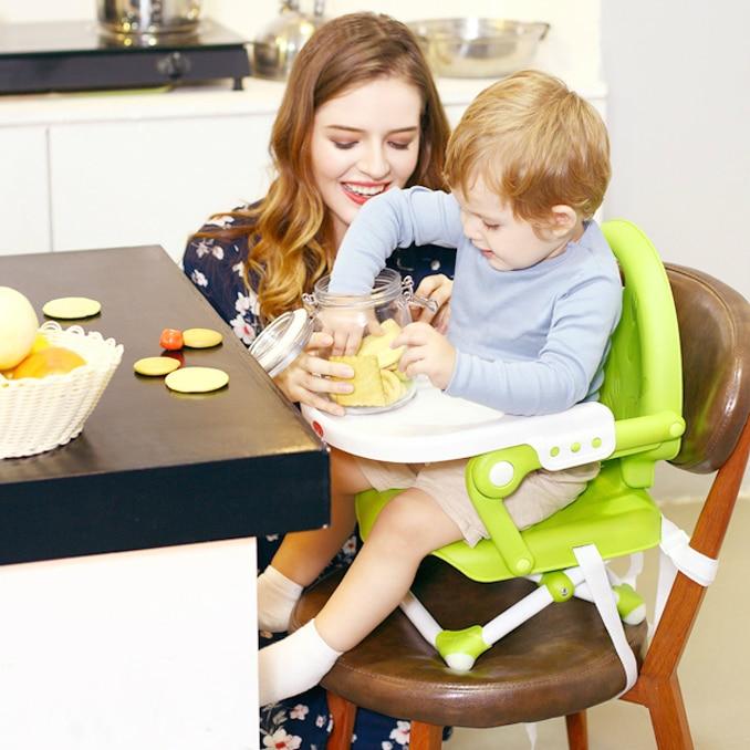 2017 Real Baby Highchair Kid Feeding High Chair Children
