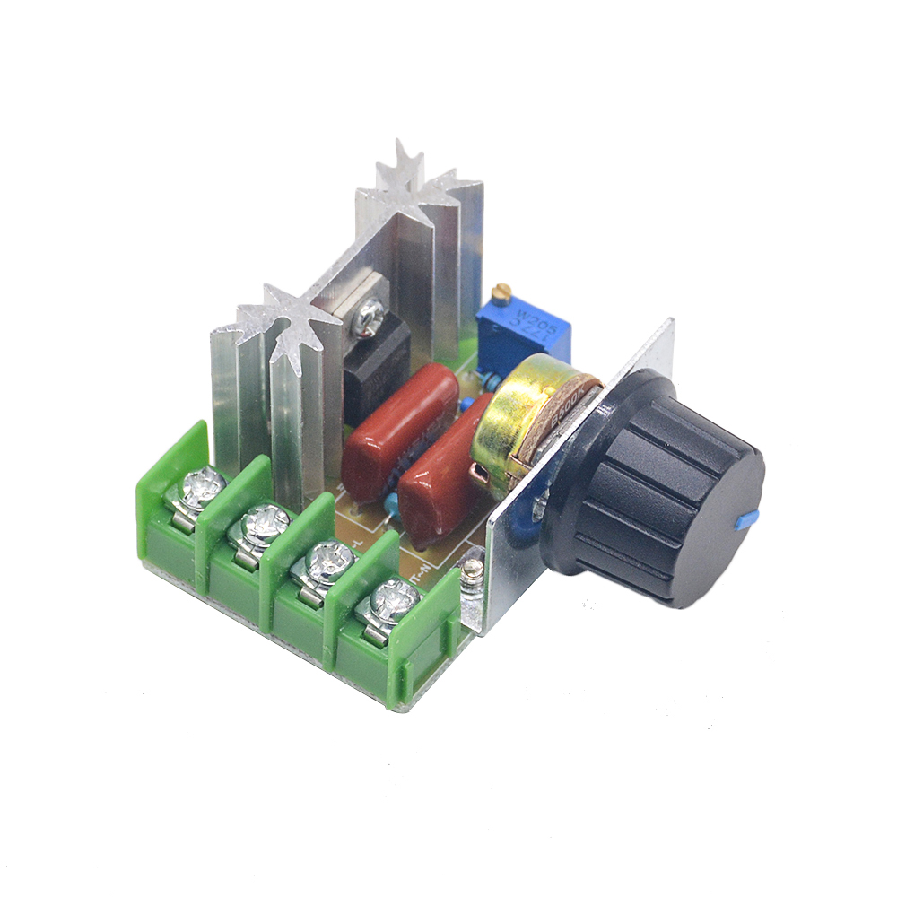 AC 220V 2000W SCR Voltage Regulator Dimming Dimmers Motor Speed Controller Thermostat Electronic Voltage Regulator ModuleAC 220V 2000W SCR Voltage Regulator Dimming Dimmers Motor Speed Controller Thermostat Electronic Voltage Regulator Module