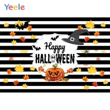 Yeele Halloween Party Photocall Witch Hat Pumpkin Photography Backdrops Personalized Photographic Backgrounds For Photo Studio