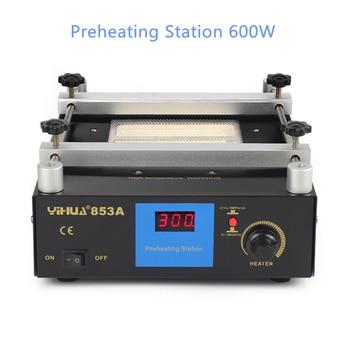 853A Thermostatic Preheating Station 600W  BGA Desoldering Rework Stationdigital Display Heating Platform Upgrade constant temperature heating units heating platform preheating station platform led heating heating plate ansai946c