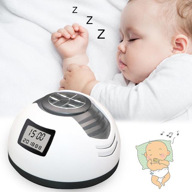 Baby Music Sleeper Timer Music Sleep Instrument High Sound Quality Sleep Aid White Noise Sound Machine