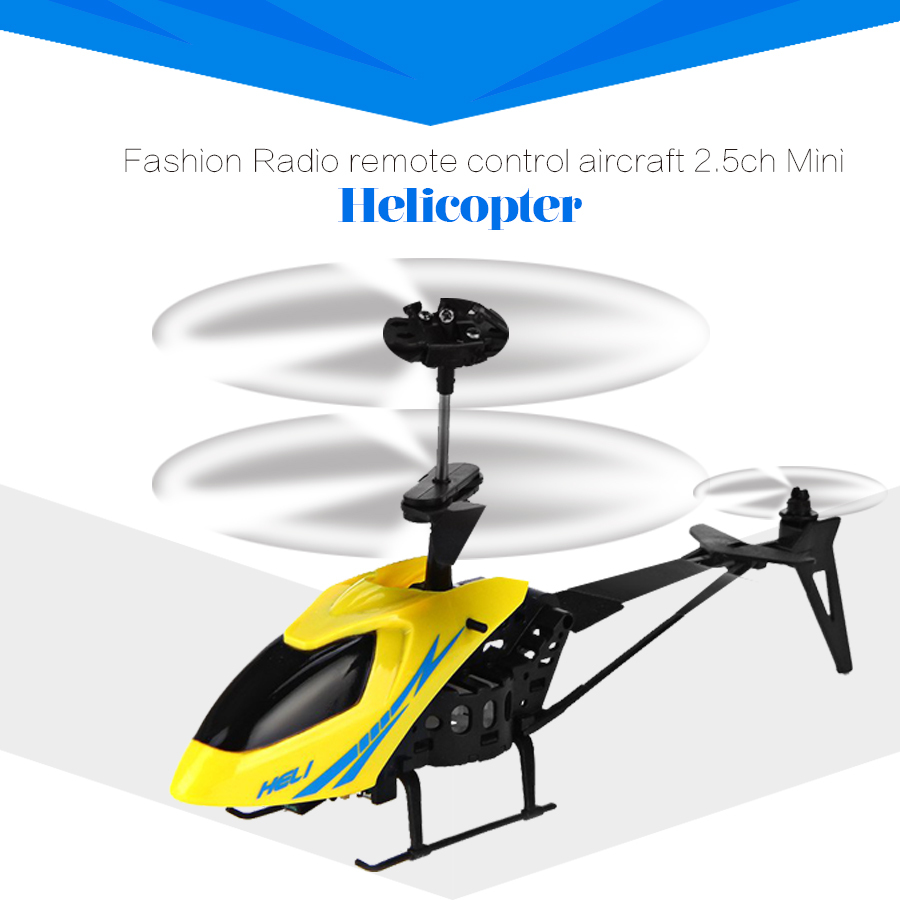 Mini Helicopter 901 Radio Remote Control Aircraft 2 5CH Kids Gifts RC Drone Quadcopter 3D Model
